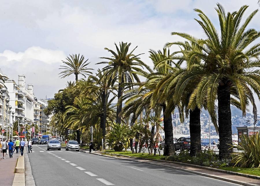 La Promenade des Anglais di Nizza