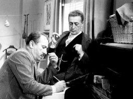 Totò e Peppino De Filippo in Totò, Peppino e la... malafemmina, uno dei più famosi film comici italiani
