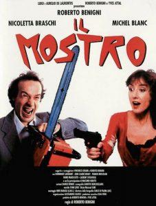 Roberto Benigni e Nicoletta Braschi in Il mostro
