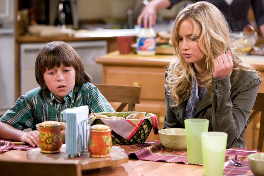 Jennifer Lawrence nel 2007, quand'era nel cast della sitcom The Bill Engvall Show