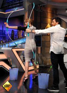 Jennifer Lawrence ospite di un programma televisivo spagnolo, El Hormiguero