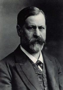 Sigmund Freud negli anni in cui arrivò a delineare la sua teoria psicoanalitica