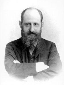 Joseph Breuer, maestro e sostenitore di Freud, presente nel sogno con lo pseudonimo di dottor M.