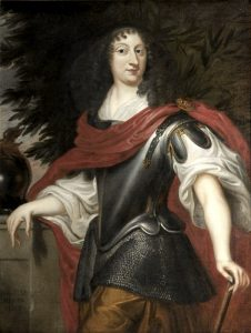 Cristina di Svezia ritratta nei panni di Minerva