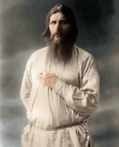 Rasputin in un'immagine quasi mistica