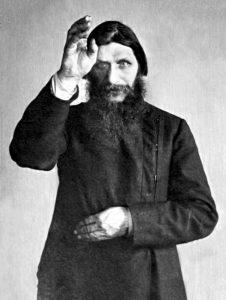 Rasputin in posa