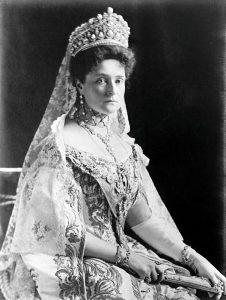 La zarina Aleksandra nel 1908