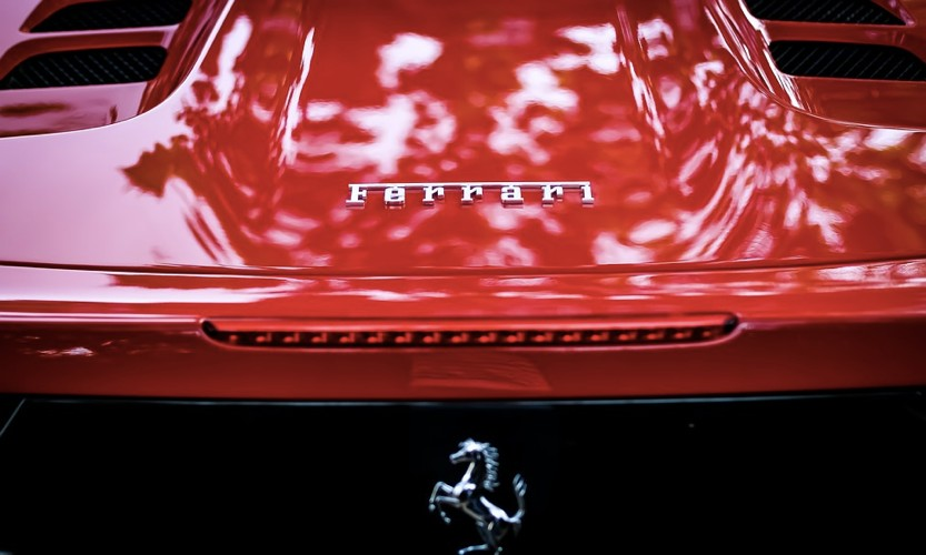 Una Ferrari