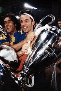 Del Piero con la Champions League