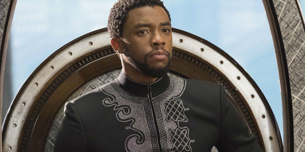 Chadwick Boseman nei panni di Pantera Nera