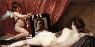 Venere e Cupido di Diego Velázquez, uno dei nudi famosi della storia dell'arte