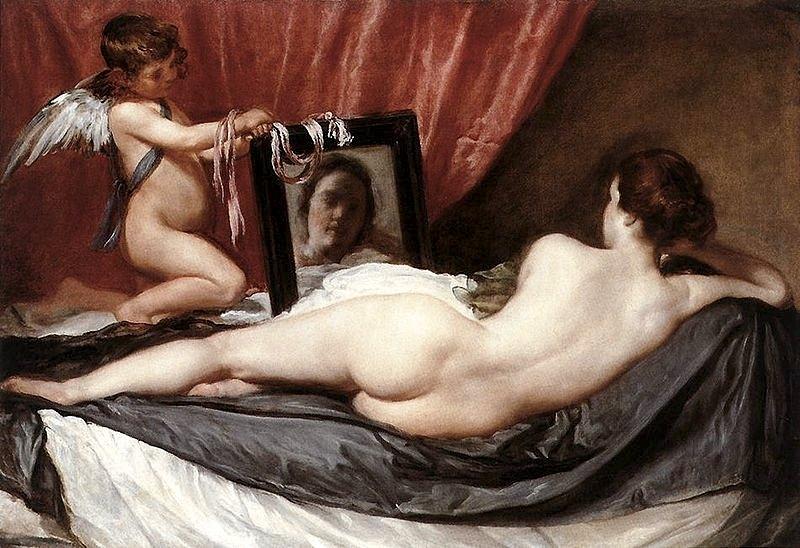 Venere e Cupido di Diego Velázquez