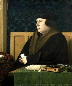 Thomas Cromwell in un famoso ritratto di Hans Holbein