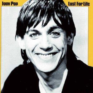 Iggy Pop sulla copertina di Lust for Life