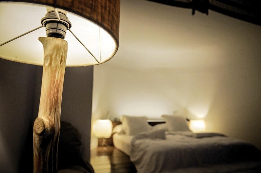 La giusta luce è importante, in camera da notte
