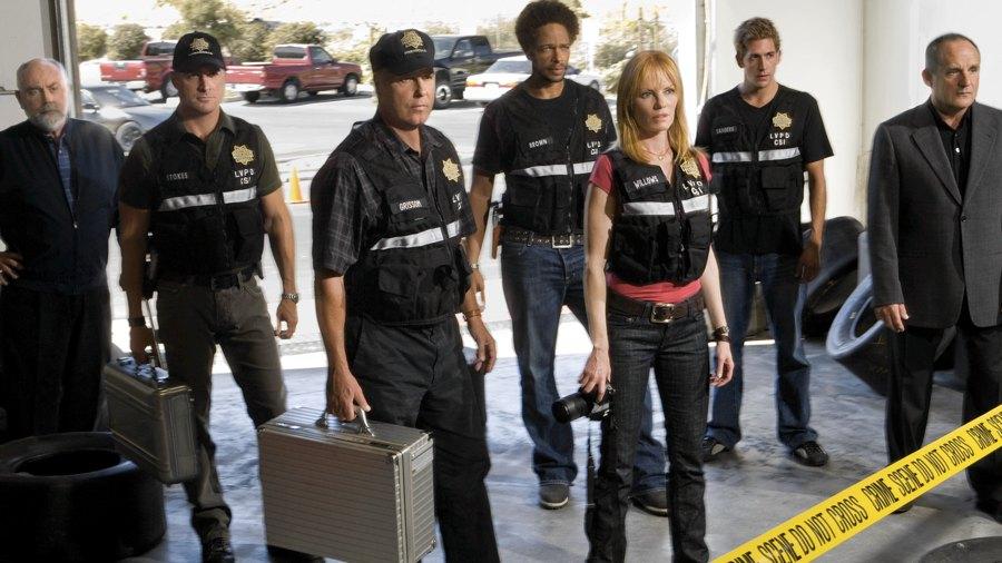 Il cast originale di C.S.I. - Scena del crimine