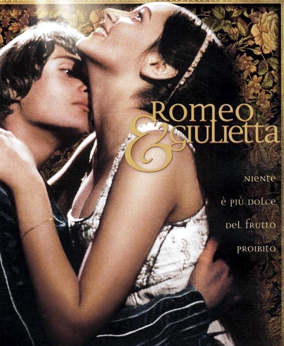 Romeo e Giulietta di Franco Zeffirelli, uno dei film d'amore italiani più noti