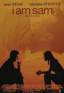 La locandina di Mi chiamo Sam, film con Sean Penn e Michelle Pfeiffer