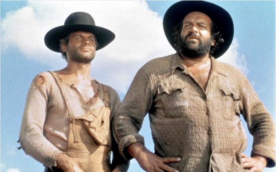 Terence Hill e Bud Spencer in Lo chiamavano Trinità...