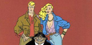 Martin Mystère, Java e Diana, i tre personaggi principali della serie