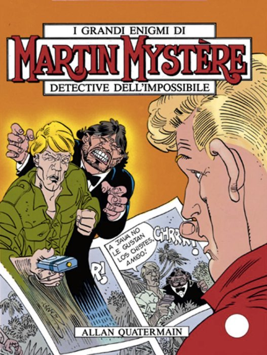 Allan Quatermain ospitato sulle pagine del fumetto di Martin Mystère