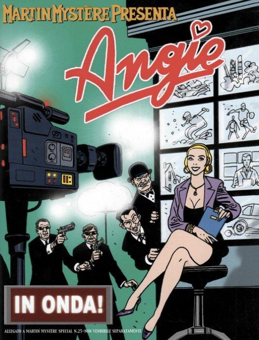 Angie sulla copertina di un albo speciale a lei dedicato