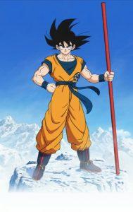 Goku, protagonista della lunga saga di Dragon Ball