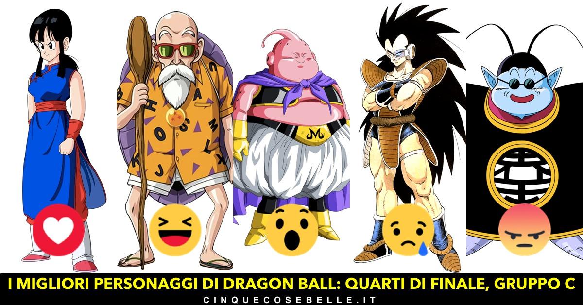 Il terzo gruppo dei personaggi di Dragon Ball