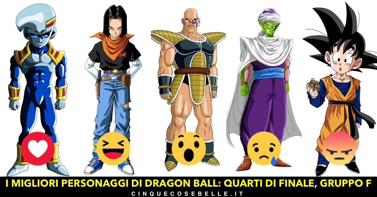 Il sesto gruppo dei personaggi di Dragon Ball