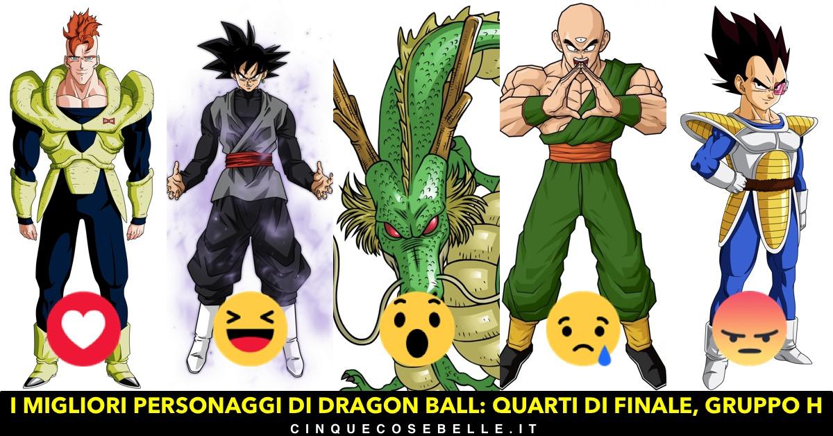 L'ottavo gruppo dei personaggi di Dragon Ball