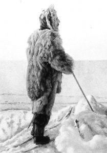 Amundsen, il primo esploratore del Polo Sud geografico, nel 1909