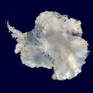 L'Antartide visto dall'alto