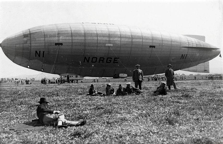 Il Norge nel 1926 a Ciampino