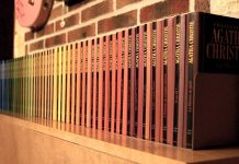 I libri di Agatha Christie (foto di Michaël Bemelmans via Wikimedia Commons)