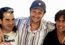 Piero Pelù, Jovanotti e Ligabue, protagonisti di un sodalizio che ha creato una delle più famose canzoni anni '90