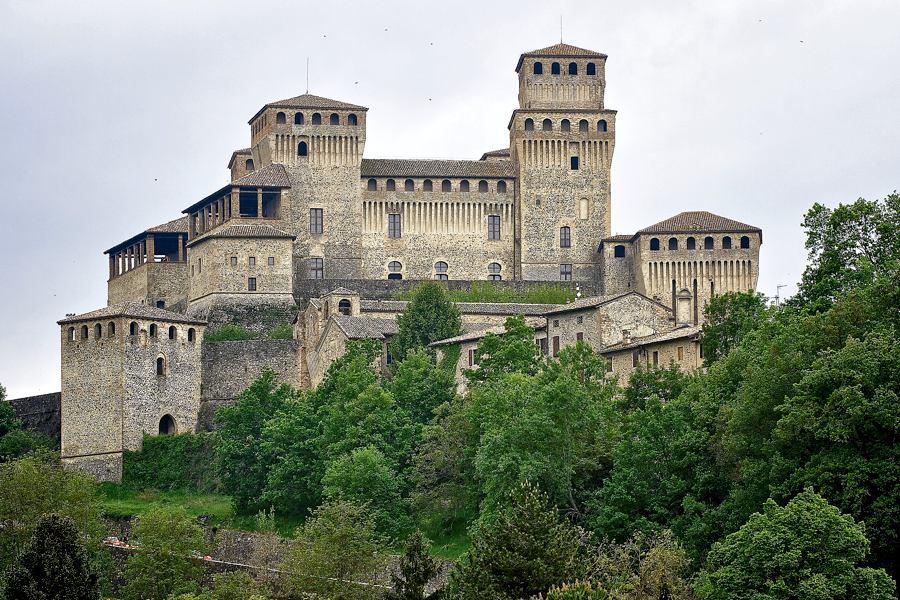 Il Castello di Torrechiara, in provincia di Parma (foto di Alessandrobl73 via Flickr)