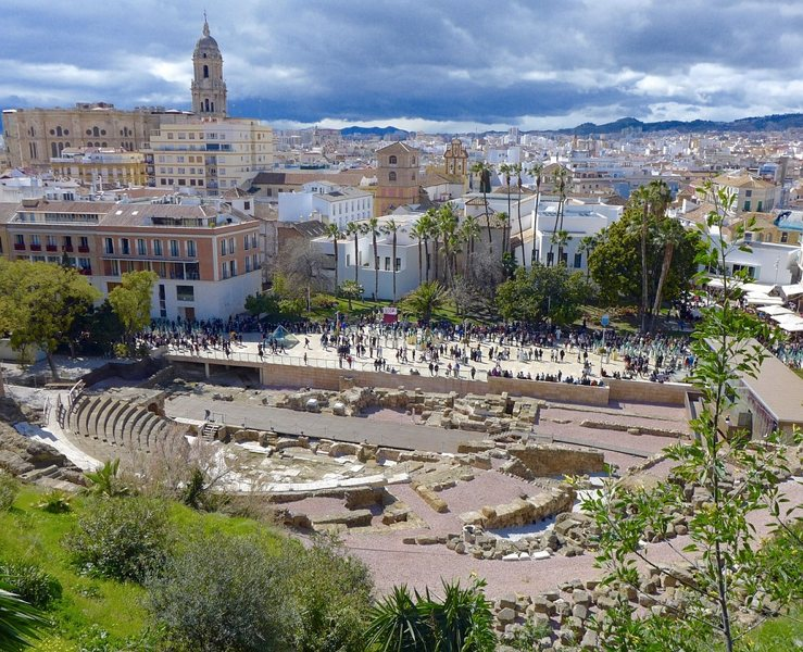 Il Teatro Romano a Malaga