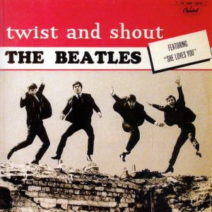 I Beatles e il loro disco Twist and Shout, in realtà una cover