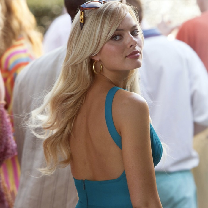 Margot Robbie, una delle donne più belle del mondo, in The Wolf of Wall Street