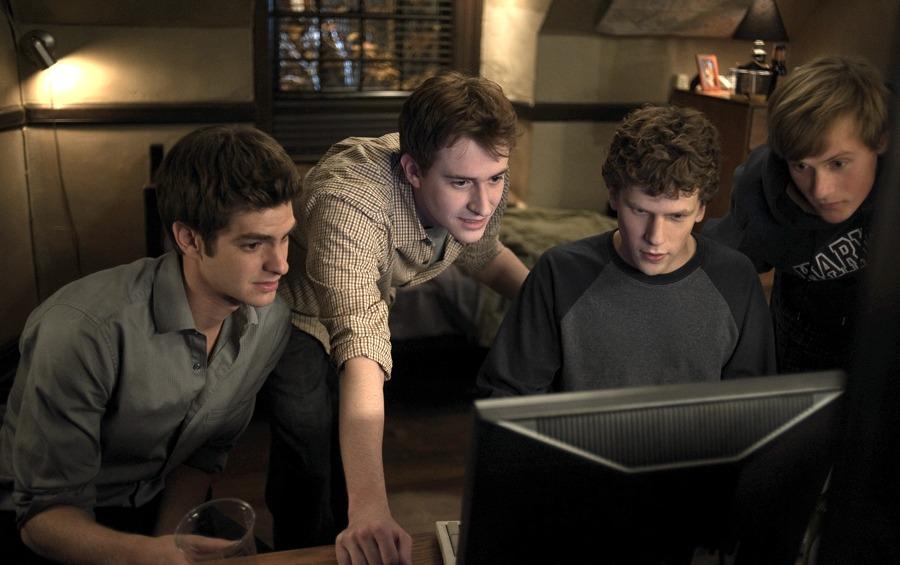 Il gruppo che creò Facebook, così come viene rappresentato nel film
