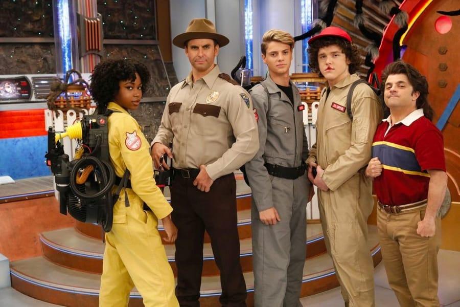 Il cast di Henry Danger in una parodia di Stranger Things