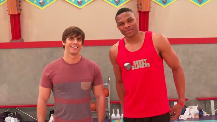 Russell Westbrook ospite di Henry Danger