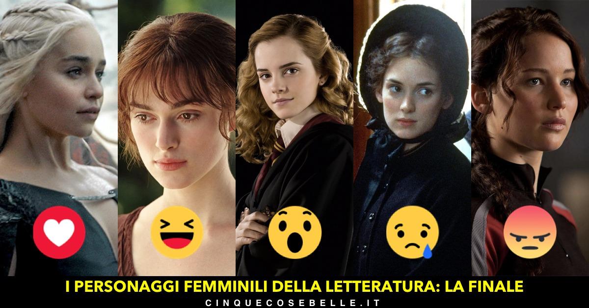 La finale del nostro sondaggio sui migliori personaggi femminili della letteratura