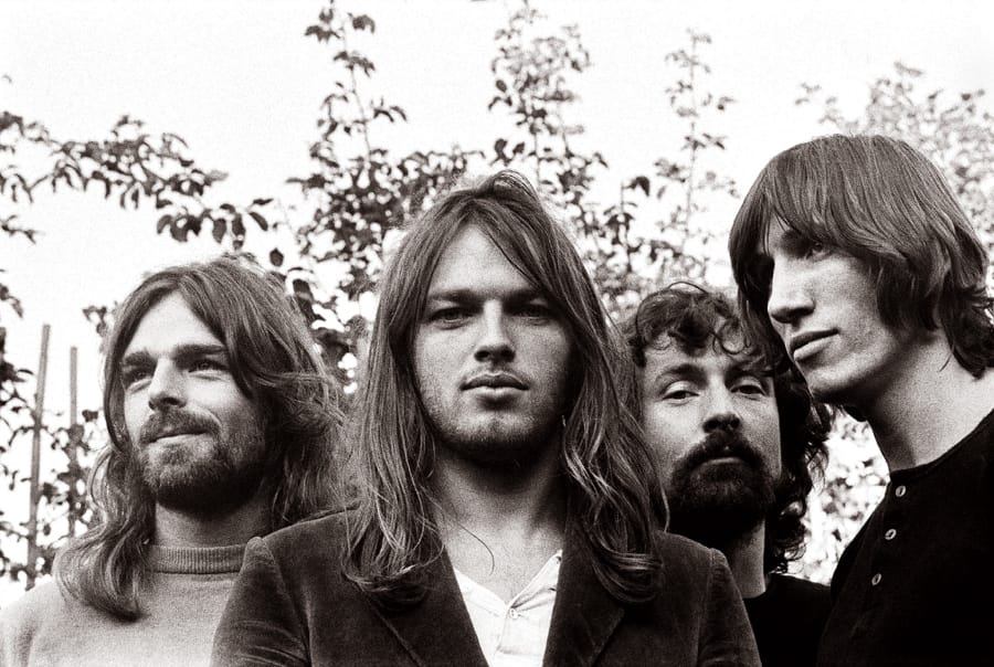 I Pink Floyd negli anni '70