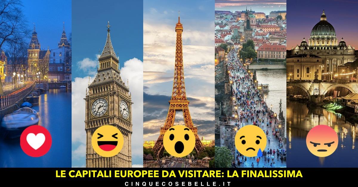 La finale del nostro sondaggio sulle capitali europee da visitare