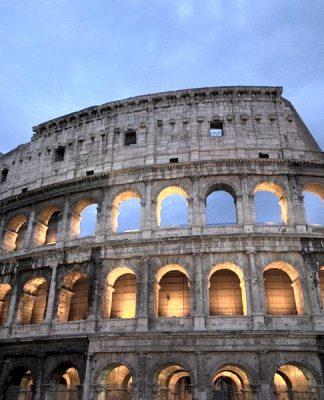 Il Colosseo, simbolo di Roma