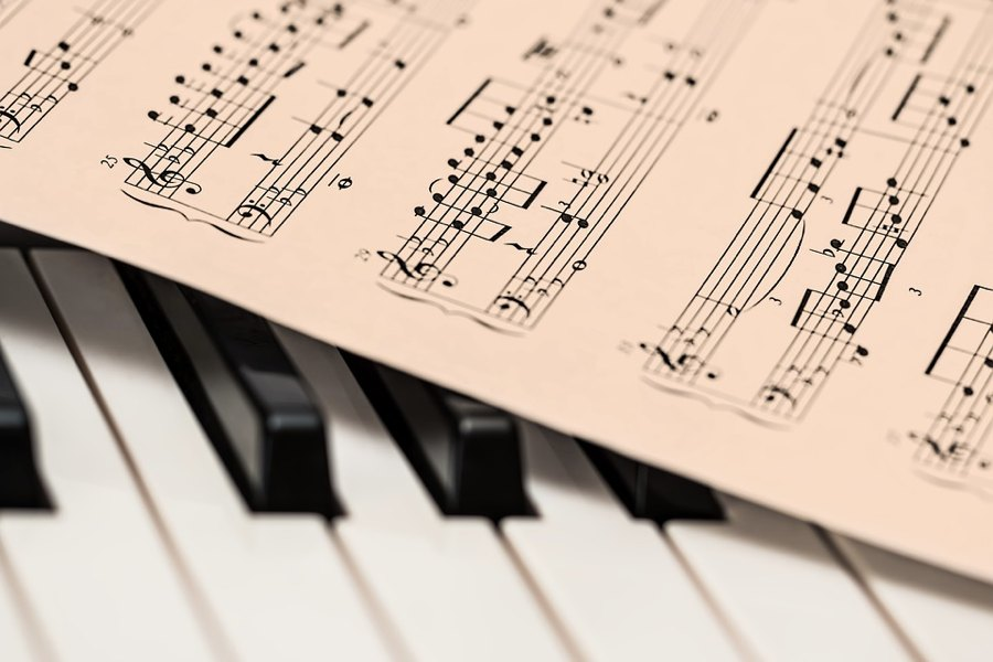 Il pentagramma e il pianoforte