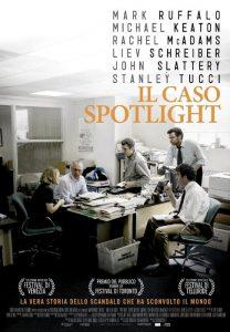 La locandina de Il caso Spotlight