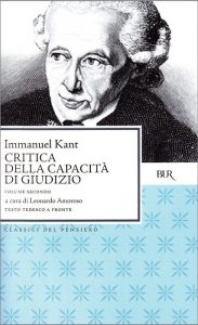 La Critica del Giudizio di Kant