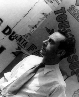 Man Ray fotografato da Carl Van Vechten